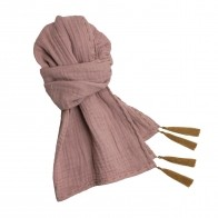 Scarf pastel dusty pink