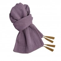 Scarf dusty lilac