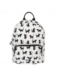 Trixie - Backpack Cats white - 1