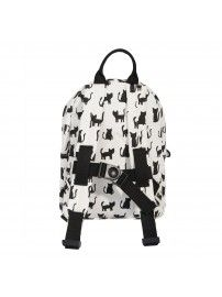 Trixie - Backpack Cats white - 3