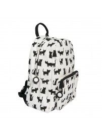 Trixie - Backpack Cats white - 2