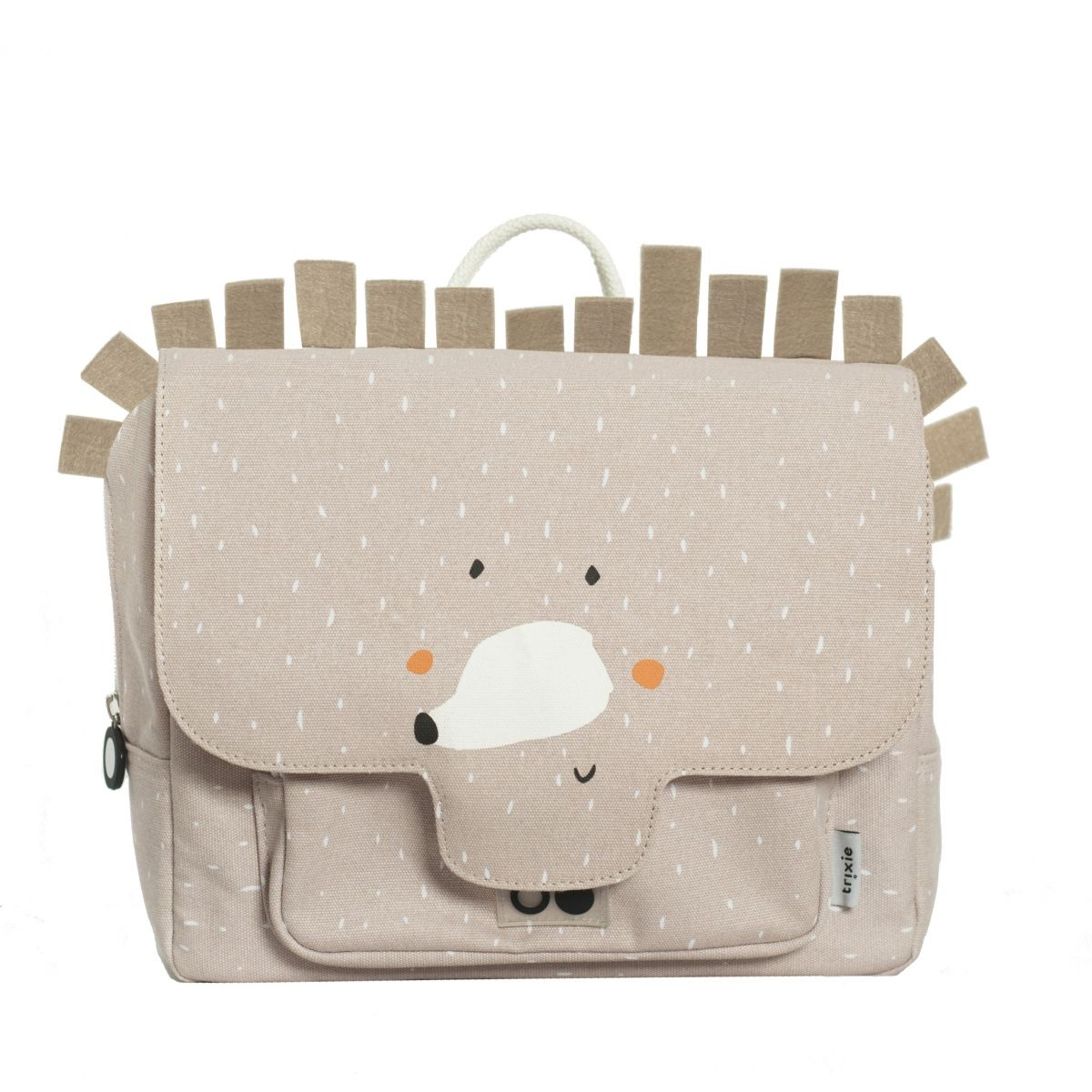 Trixie - Mme cartable Hérisson beige - 1