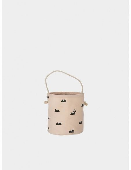 Ferm LIVING - Basket Rabbit rose - 2