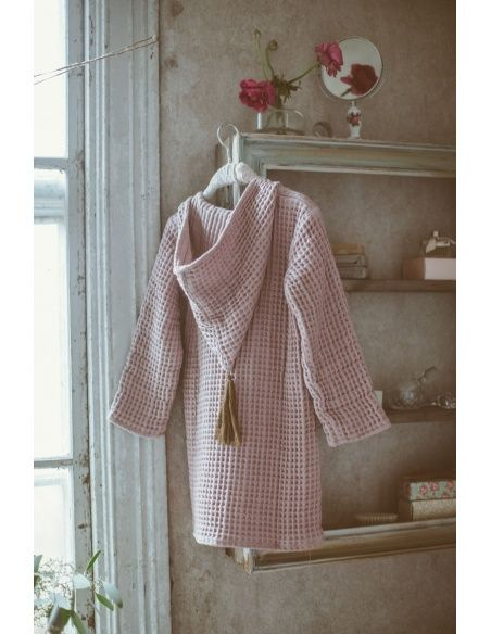 Numero 74 - Bathrobe Kid dusty pink - 2