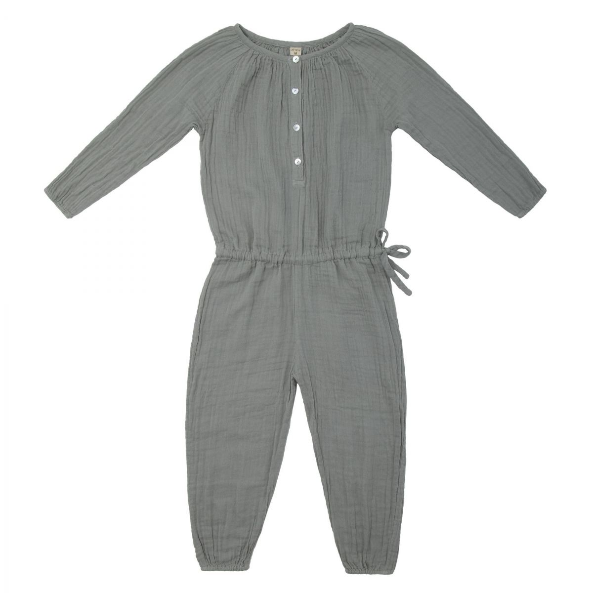 Numero 74 - Naia Jumpsuit Kid silver grey - 1