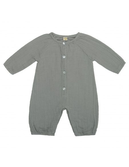 Numero 74 - Leni Jumpsuit Baby silver grey - 1