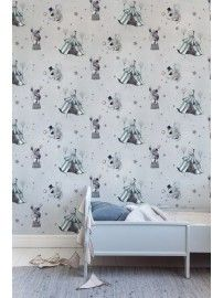 Mrs. Mighetto - The Wallpaper Circus Mighetto blue-grey - 1