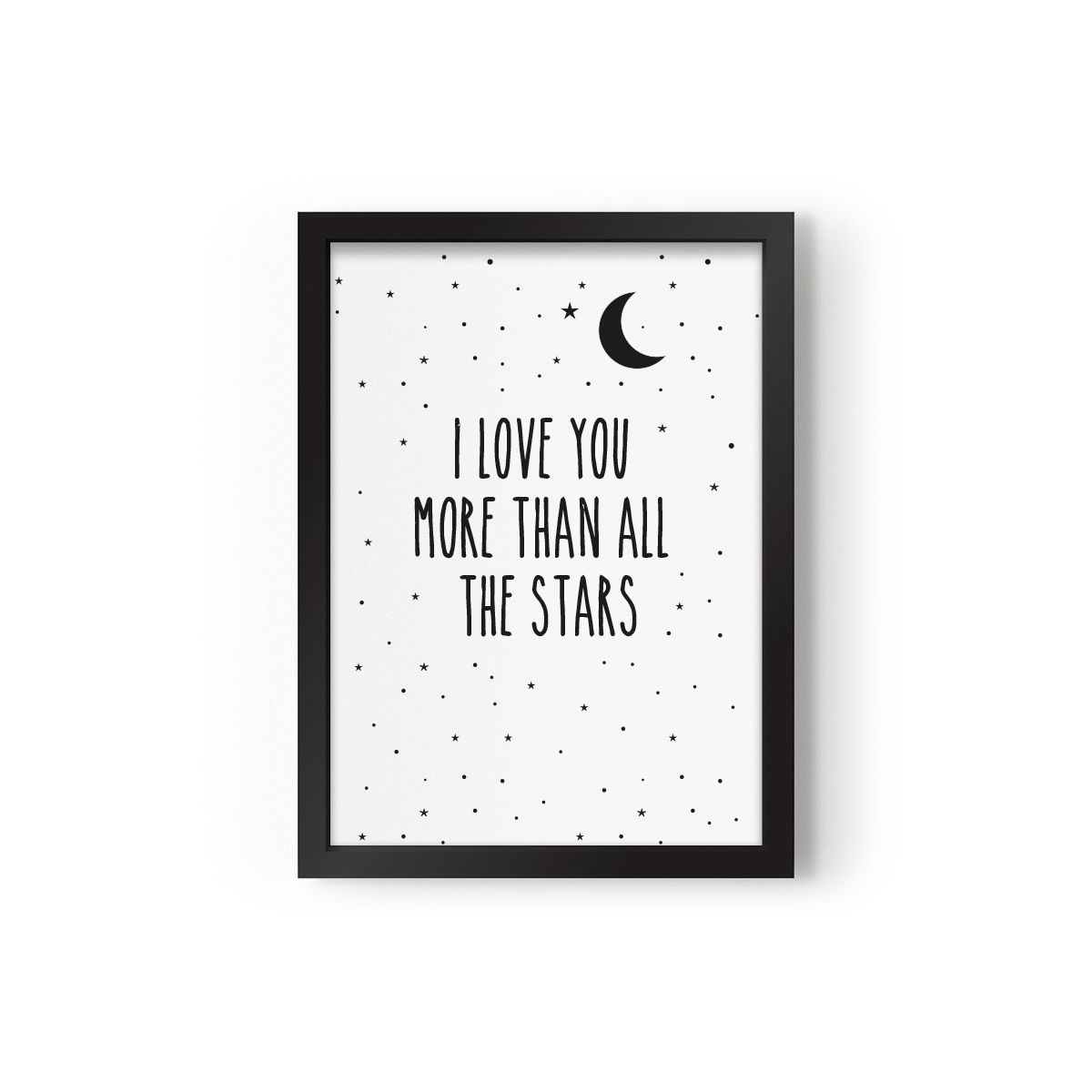 Eef Lillemor - Plakat I Love You More Than All The Stars - 1