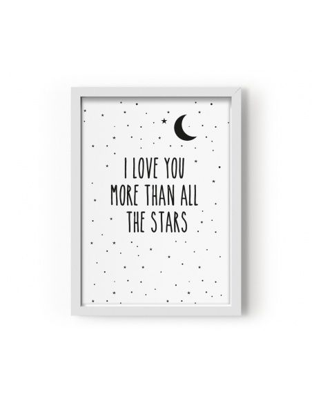 Eef Lillemor - Plakat I Love You More Than All The Stars - 2