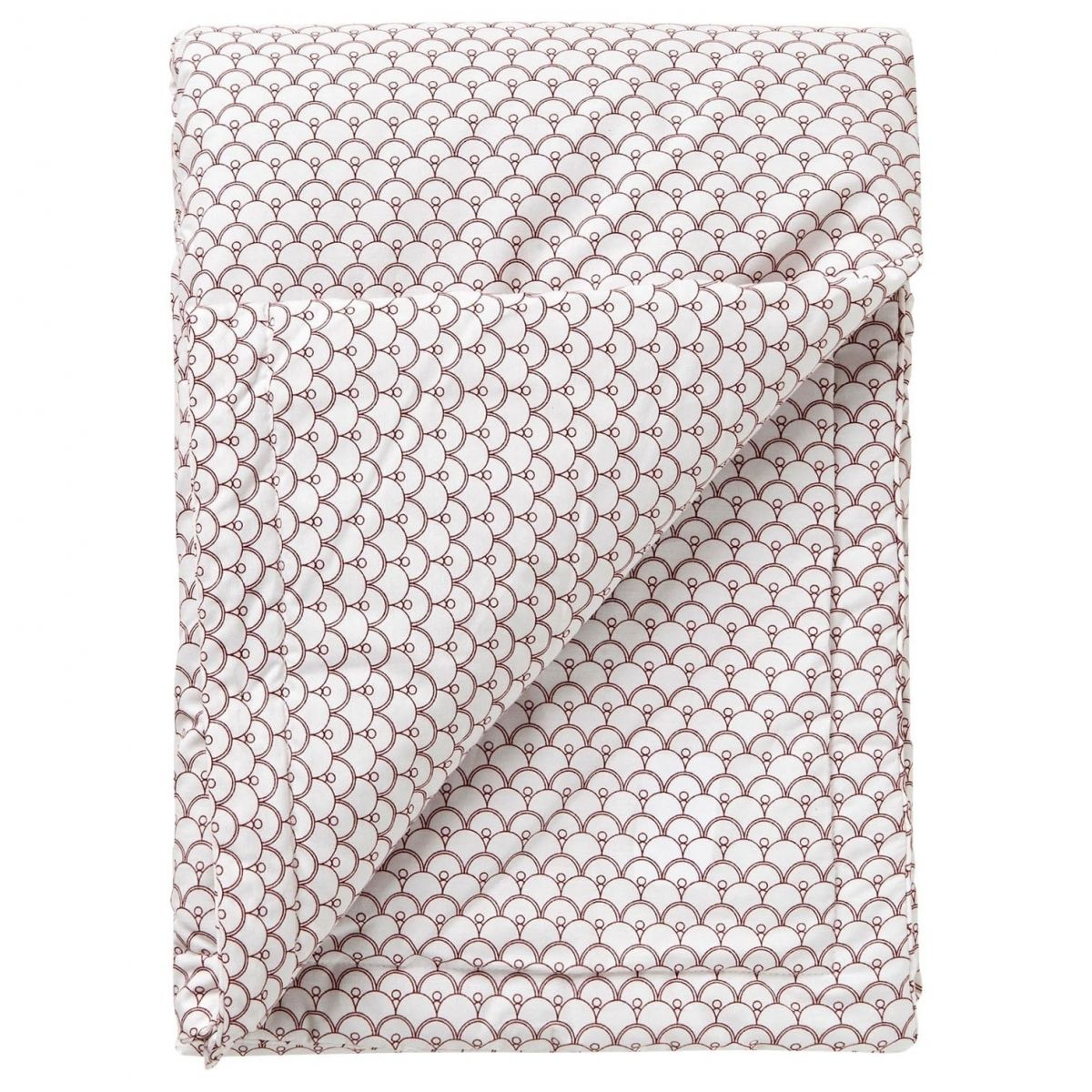 Garbo & Friends - Cupola Rust Filled Blanket white - 1