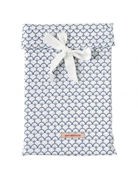 Garbo & Friends - Parure de lit Cupola Blue Baby BS SE blanc - 2