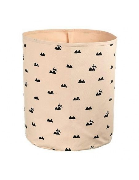 Ferm LIVING - Basket Rabbit rose - 1