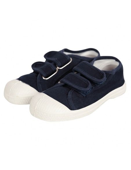 Bensimon - Sneakers Scratch Marineblau - 3