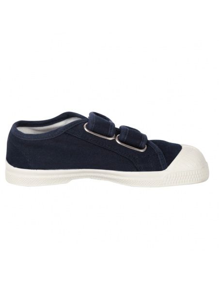 Bensimon - Sneakers Scratch Marineblau - 1