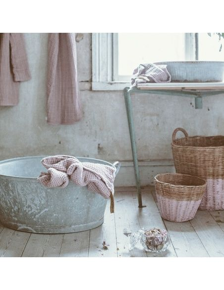 Numero 74 - Baby Towel dusty pink - 2