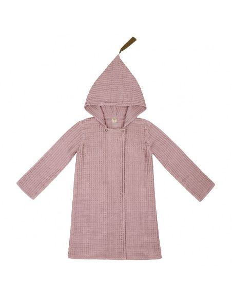 Numero 74 - Bathrobe Kid dusty pink - 1