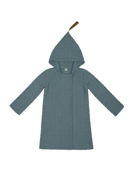 Numero 74 - Bathrobe Kid ice blue - 1