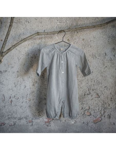 Numero 74 - Leni Jumpsuit Baby silver grey - 5