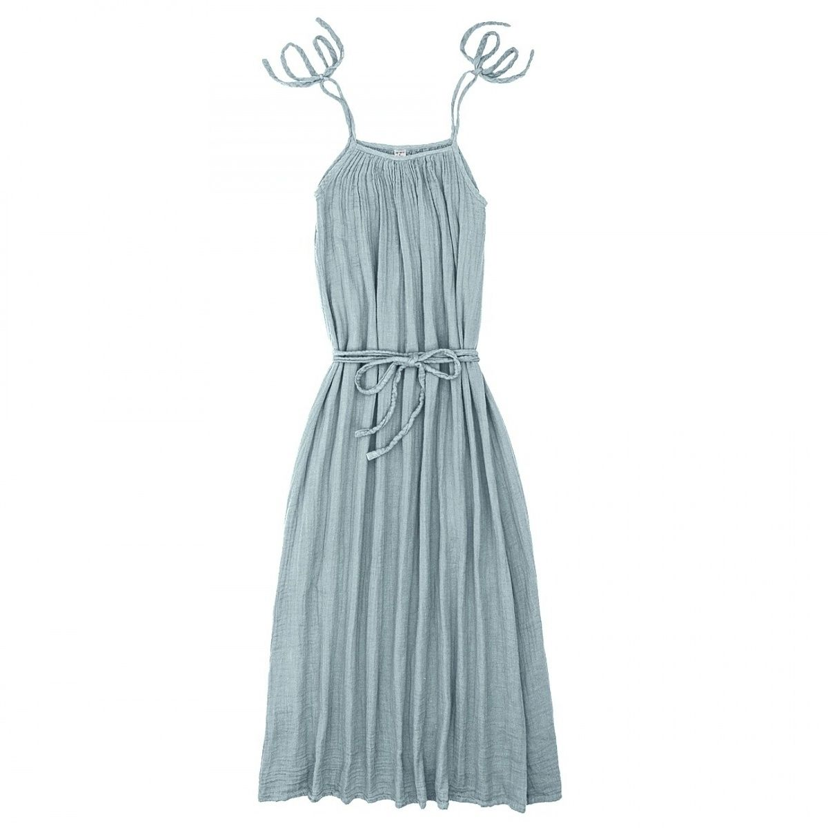 Numero 74 - Mia Long Dress Mum sweet blue - 1