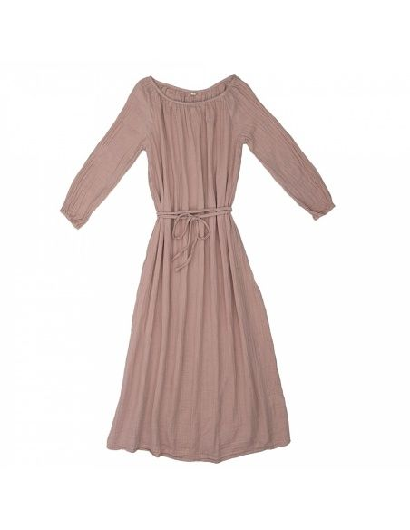 Numero 74 - Dress for mum Nina long dusty pink - 1