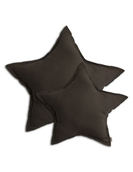 Numero 74 - Star cushion taupe - 2