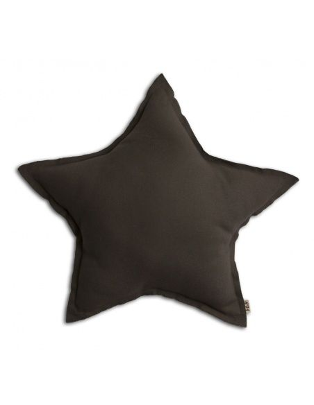 Numero 74 - Star cushion taupe - 1