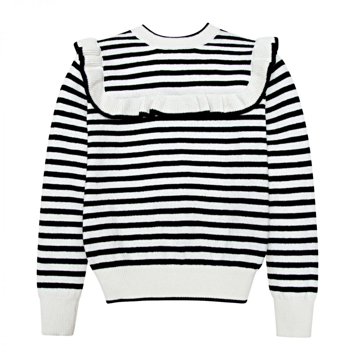 The New Society - Abby pullover with stripes - 1