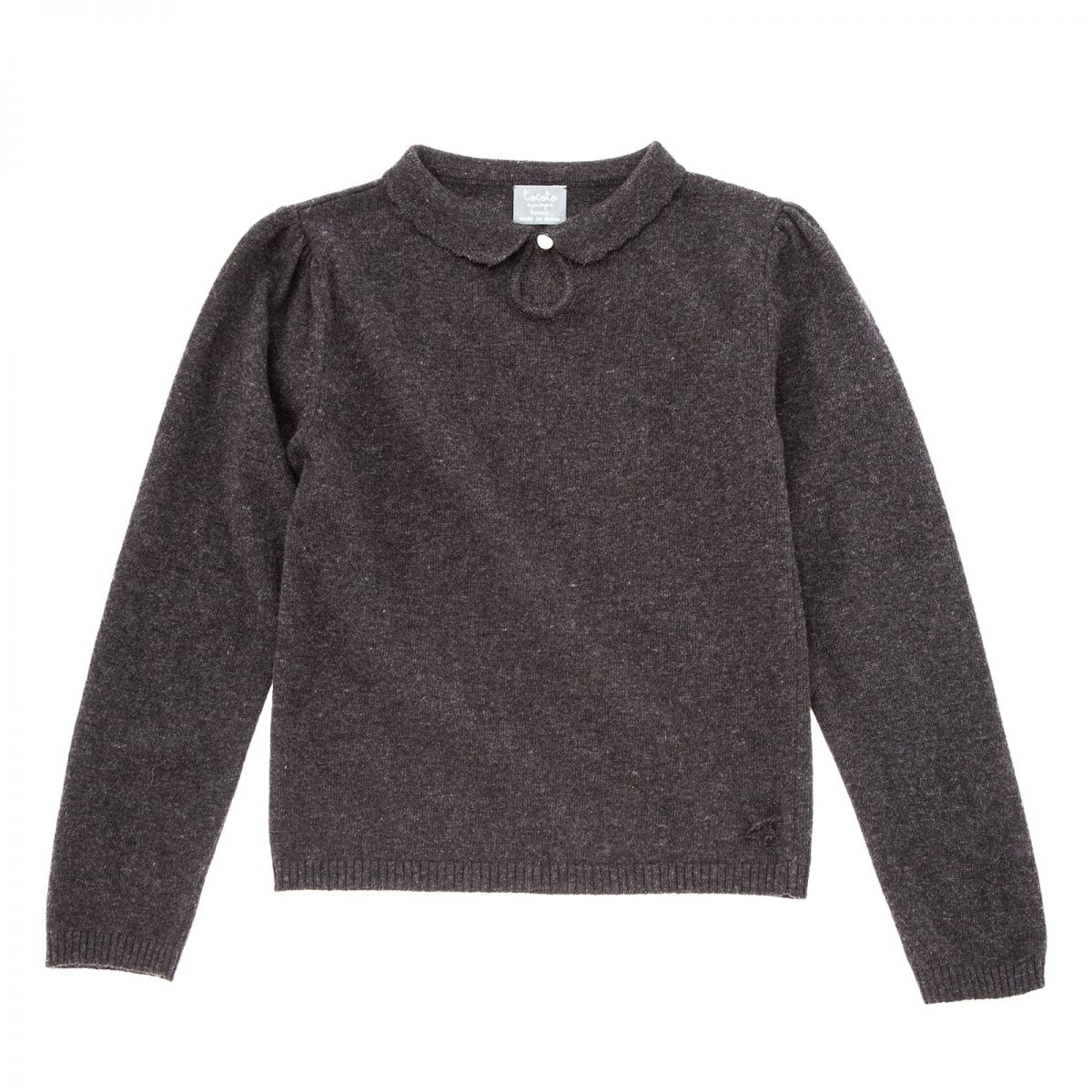 Tocoto Vintage - Knitted sweater black - 1