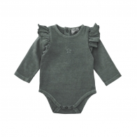 Plain jersey body grey