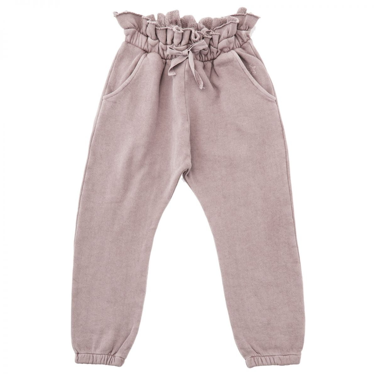 Tocoto Vintage - Ruffled waists trousers pink - 1