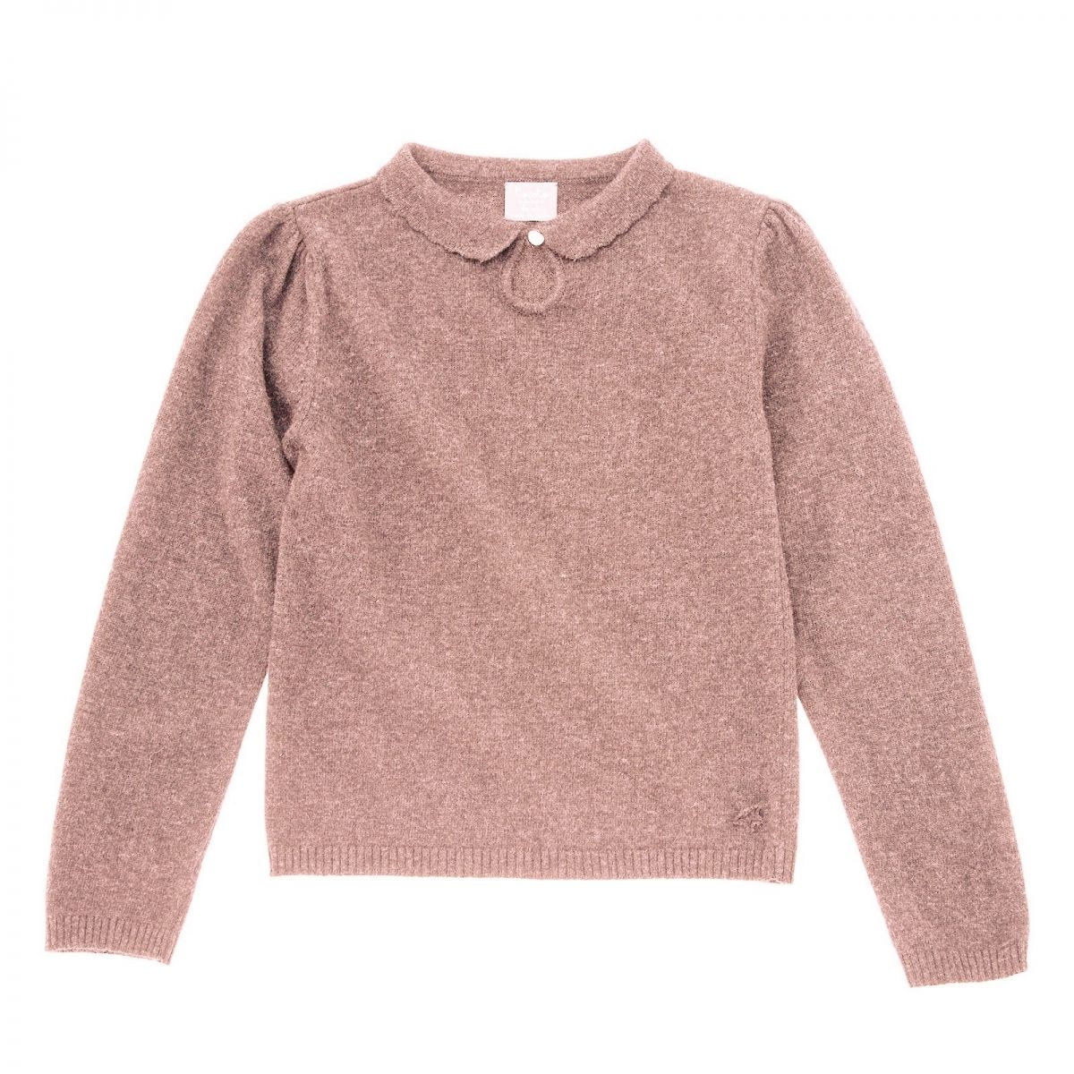 Tocoto Vintage - Sweter knitted różowy - 1