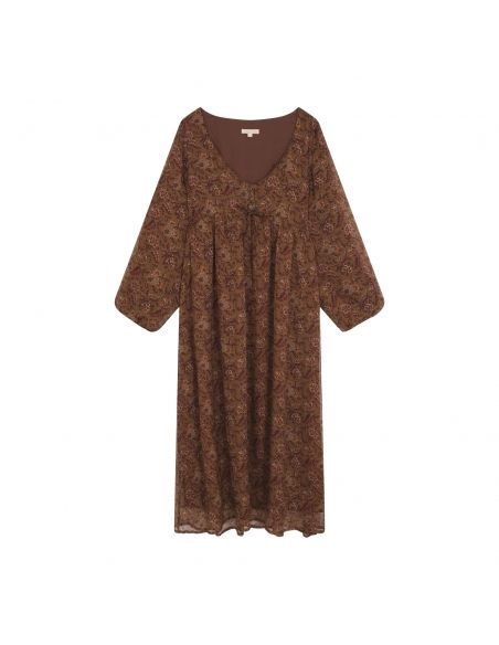 Louise Misha - Dress Chala brown - 1