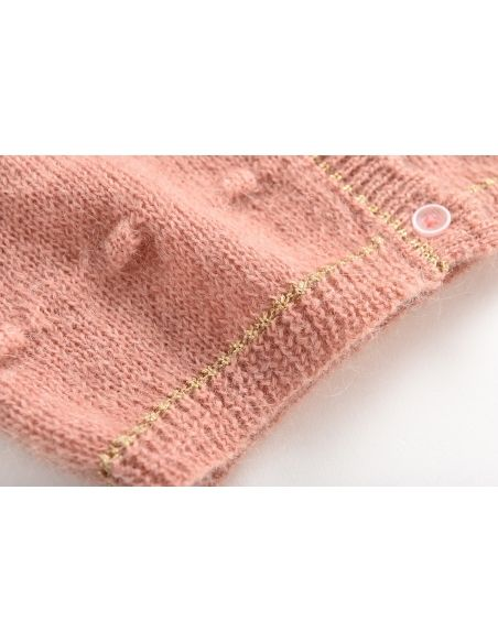 Louise Misha - Cardigan rose Lunata - 3