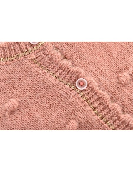 Louise Misha - Cardigan Lunata rose - 4