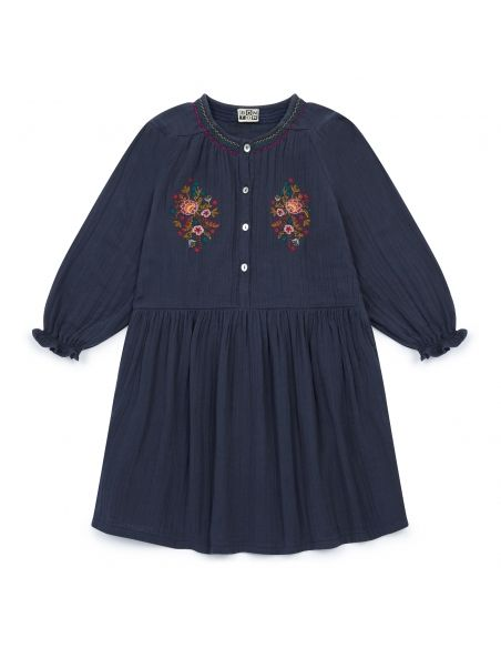 Bonton - Dress Serena navy - 1