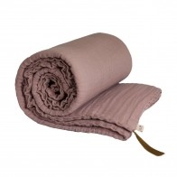 Winter Blanket dusty pink