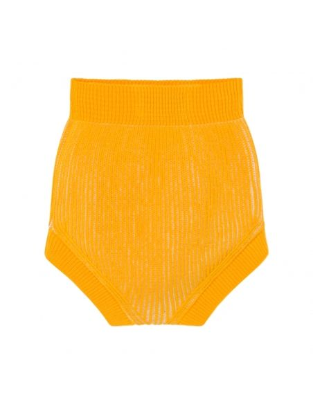 Bobo Choses - Bloomer Striped Knitted Culotte żółty - 2
