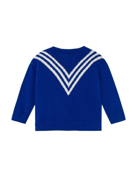 Bobo Choses - Three Stripes Knitted Jumper - 2