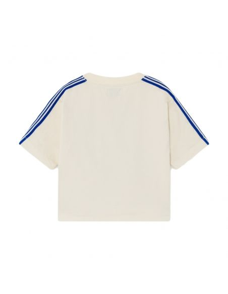 Bobo Choses - Fred, Ginger & Kelly Short Sleeve Sweatshirt White - 2