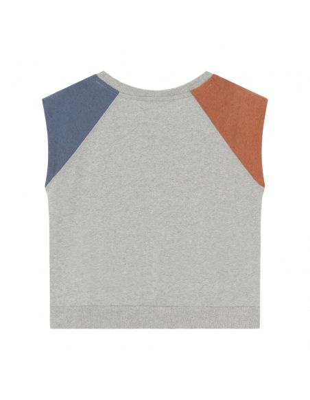 Bobo Choses - A Dance Romance Sleeveless T-shirt Grey - 2