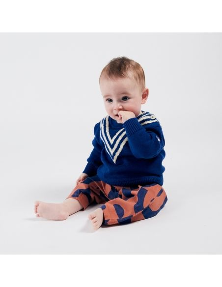 Bobo Choses - Three Stripes Knitted Jumper - 3