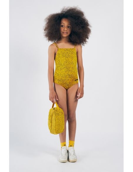 Bobo Choses - All Over Leopard Swimsuit Yellow - 3
