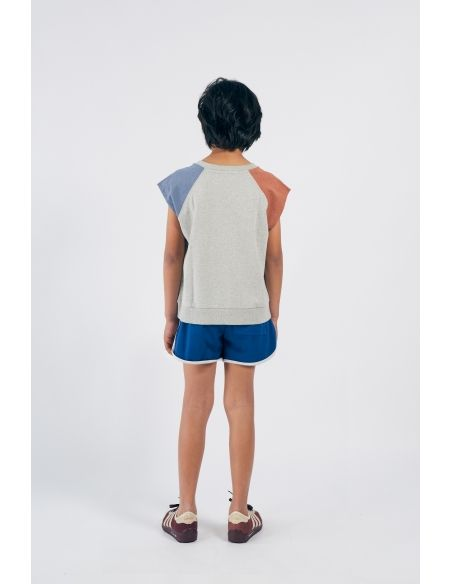 Bobo Choses - A Dance Romance Sleeveless T-shirt Grey - 5
