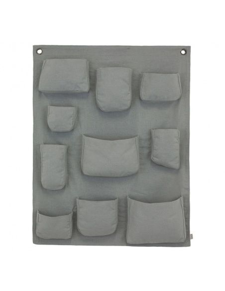 Numero 74 - Wall Pocket silver grey - 1