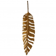 Hanging iron leaf