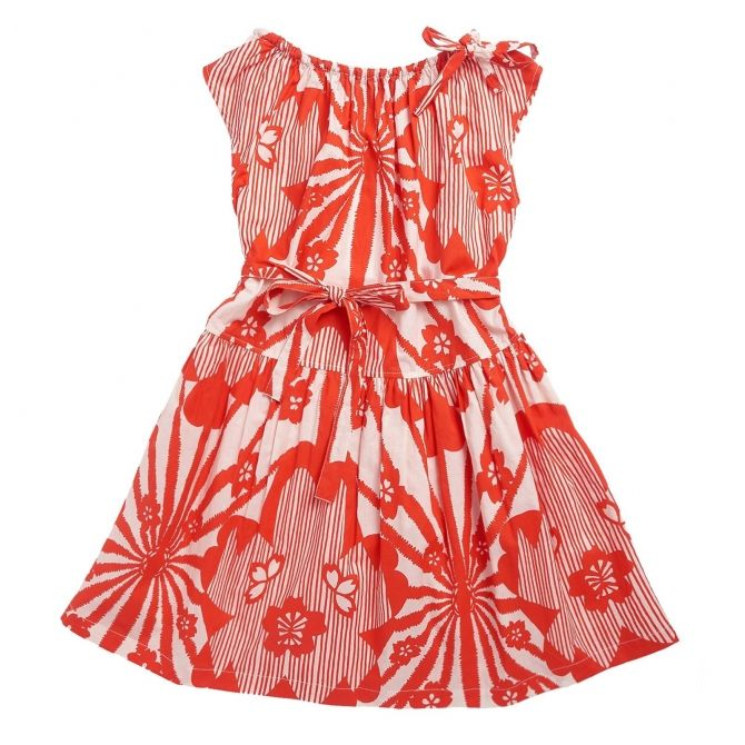 Caramel Baby & Child - Dress Notting Hill Red - 5