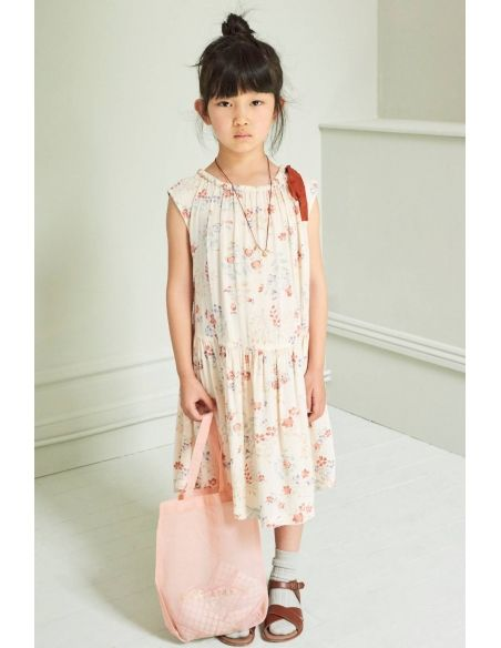 Caramel Baby & Child - Dress Notting Hill Ecru With Flowers - 2