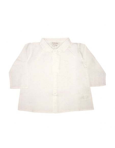 Caramel Baby & Child - Westminister Baby Shirt White - 1