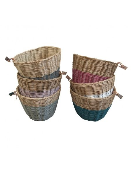 Numero 74 - Basket rattan rose - 3