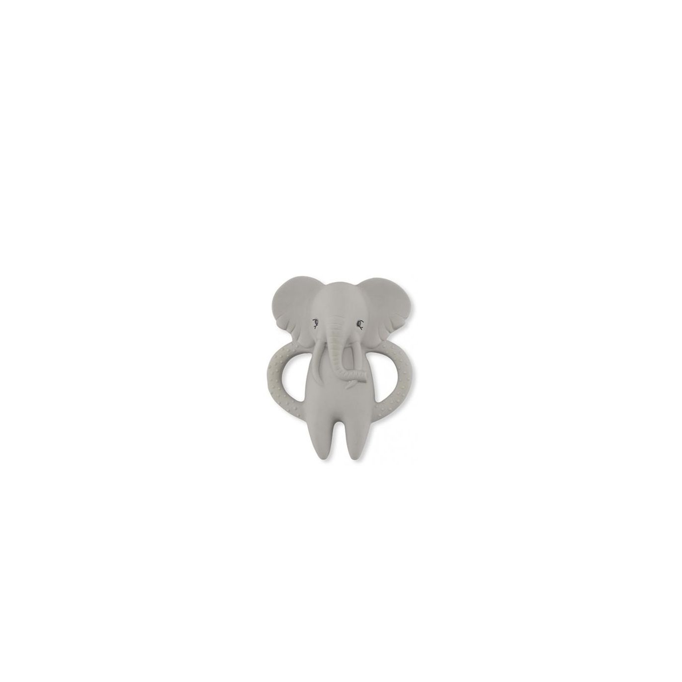 Konges Slojd - Teeth Soother Elephant grey - 1